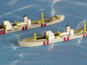 "German Auxiliary Cruiser HSK ""Atlantis"" 1/1800 in Smooth Fine Detail Plastic"