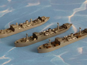 "German Auxiliary Cruiser HSK ""Coronel"" 1/1800 in Smooth Fine Detail Plastic"