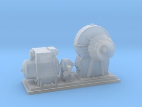 1/144 IJN Electric Deck Winch in Smooth Fine Detail Plastic
