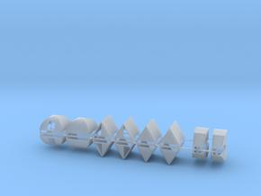Zelte 16er Set ABC - 1:120 TT in Smooth Fine Detail Plastic