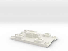1/600 Siebel Ferry 40 Light Flak in White Natural Versatile Plastic