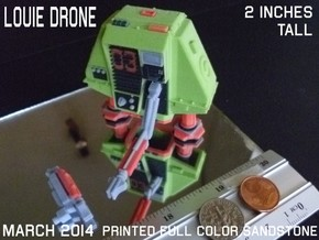 2 Inches DRONE 3 LOUIE Full Color in Sandstone