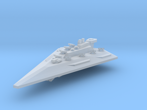 Wedget-EscortCruiser in Smooth Fine Detail Plastic