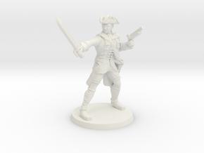 Redcoat Captain Jacobs in White Natural Versatile Plastic