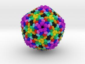 Flavobacterium Infecting Lipid Phage in Full Color Sandstone