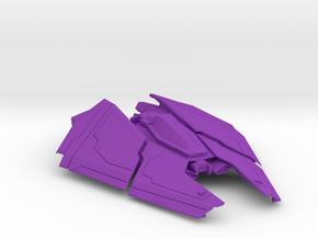 1/72 Space Fighter F63 Condor in Purple Processed Versatile Plastic