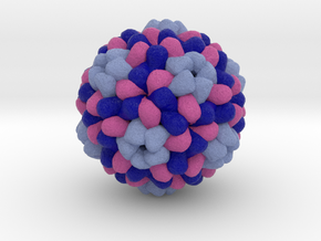 Brome Mosaic Virus in Full Color Sandstone