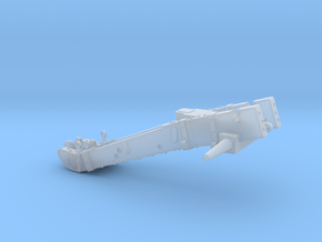 W02.2 6_pdr_gun carriage in Smooth Fine Detail Plastic