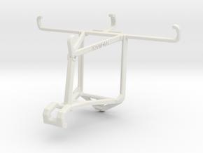 Controller mount for Shield 2017 & BLU Studio G2 - in White Natural Versatile Plastic