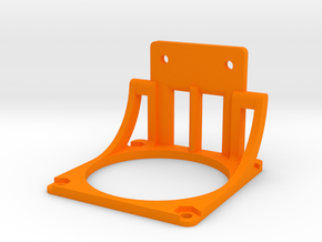 Energiekettenhalter - Deckel - Ndo Design in Orange Strong & Flexible Polished