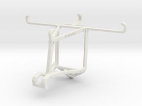Controller mount for Shield 2017 & Meizu m3e - Top in White Natural Versatile Plastic