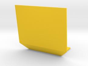 1:32 Pflanzenschutzplatte breit in Yellow Strong & Flexible Polished