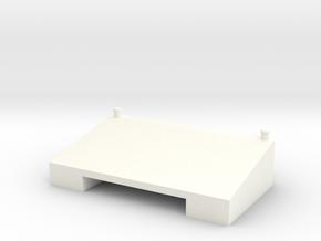 1:32 Xerion 5000 Zusatztank in White Processed Versatile Plastic: 1:32