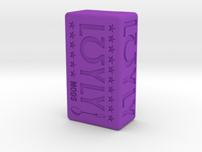 Löyly Squonker in Purple Processed Versatile Plastic