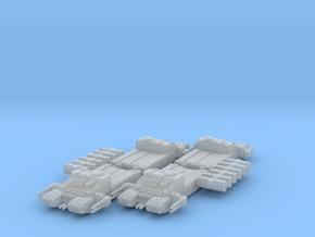 1/270 TX-225 GAVw 'Occupier' Tanks & Cargo (4) in Smooth Fine Detail Plastic
