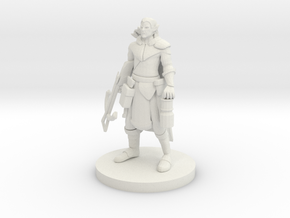 Elf Crossbow Ranger in White Natural Versatile Plastic