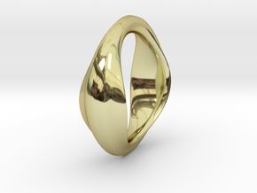 The Very Beginning in 18k Gold Plated Brass: Small