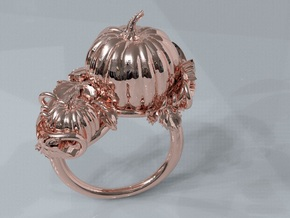Thanksgiving in 14k Rose Gold Plated: 11 / 64