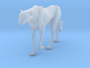 Cheetah 1:22 Walking Female 1 in Smooth Fine Detail Plastic