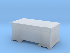 1/56th (28 mm) scale desk in Frosted Ultra Detail