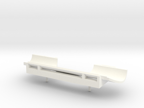 O Snow Plow 1 in White Strong & Flexible Polished