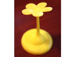 Planted Pikmin (Flower) in Yellow Processed Versatile Plastic