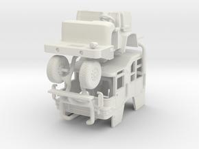 1/64 Pierce Quantum raised roof in White Natural Versatile Plastic
