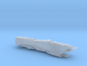 UNSC Vindication Class Light Battleship in Smooth Fine Detail Plastic