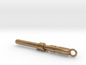 Lightsaber Solid Blade Master 2 in Polished Brass