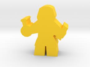 Game Piece, Alchemist in Yellow Processed Versatile Plastic