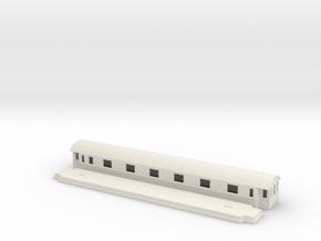 Co14 - Swedish passenger wagon in White Natural Versatile Plastic