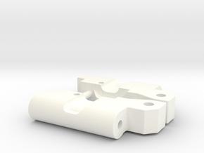 Custom RPM91 rear arm 0-0 mounts in White Processed Versatile Plastic