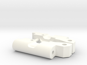 Custom RPM91 rear arm 0-0 narrow mounts in White Processed Versatile Plastic