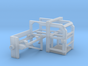1/96 USN DC Thrower Rack Starboard in Smooth Fine Detail Plastic