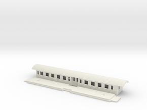 Co13 - Swedish passenger wagon in White Natural Versatile Plastic