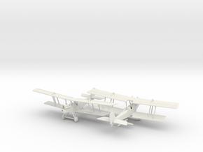 1/144 RAF RE 8 x2 in White Natural Versatile Plastic