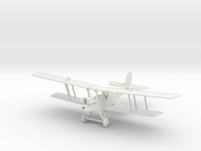 1/144 or 1/100 RAF RE 8 in White Natural Versatile Plastic: 1:144