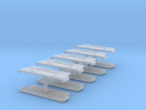 Robur-Kühlergrill LD3004 10erSet TT 1:120 in Smooth Fine Detail Plastic