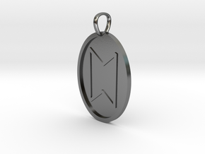 Stan Rune (Anglo Saxon) in Polished Silver
