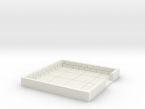4x4_onedoor_c in White Natural Versatile Plastic