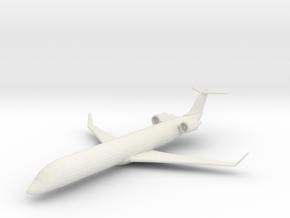Bombardier CRJ-700 in White Natural Versatile Plastic