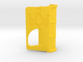 Shaped Door no tokens in Yellow Processed Versatile Plastic