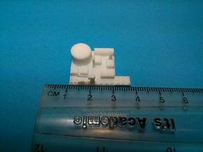 Large Naval Base x12 in White Natural Versatile Plastic