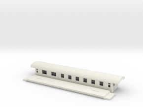 BCo5c - Swedish passenger wagon in White Natural Versatile Plastic