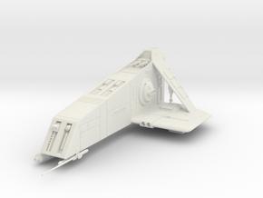Pursuer-class Enforcement Ship in White Natural Versatile Plastic