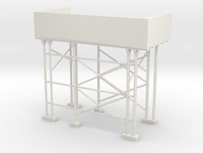 "BK-01: ""Un-Sheduled"" by Al-Hamad Design in White Natural Versatile Plastic"
