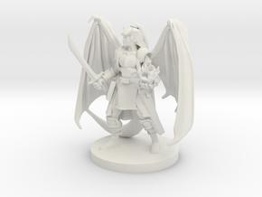Tiefling Warlock 2 in White Strong & Flexible
