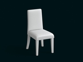 1:10 Scale Model - Chair 03 in White Natural Versatile Plastic