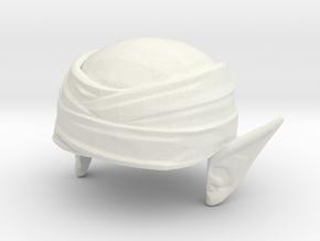 Custom Piccolo Inspired Lego in White Natural Versatile Plastic