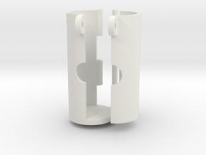 HPA Tournament lock ROBUST full set in White Natural Versatile Plastic